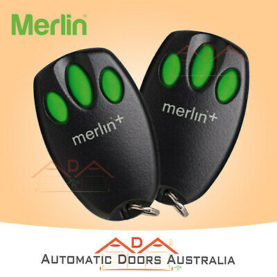 AU59.80 • Buy 2 X C945 Merlin Garage Remote - Suits MR650 & MR850 Garage Door Motor Openers