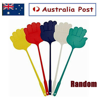 AU9.99 • Buy 5XMosquito Fly Swatter Plastic Handle Extendable Insect Swat Killer Bug Catcher