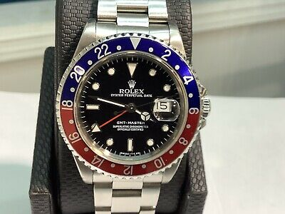 $ CDN16680.19 • Buy ROLEX 16700 GMT MASTER PEPSI S/S 40mm Automatic X Series! 100% Original & Papers