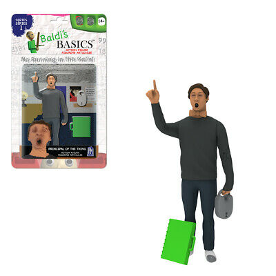 $ CDN14.55 • Buy Baldi's Basics Action Figure 14+ Principal Of The Thing- Sold Out In Stores!!