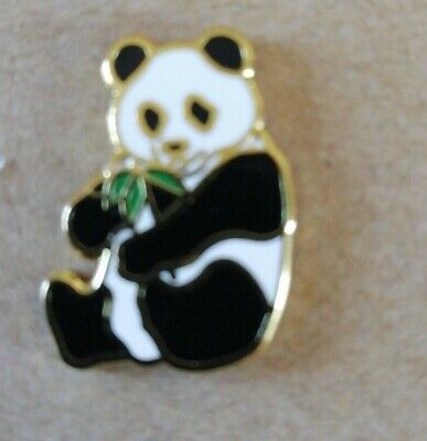Panda Animal Enamel Pin Badge - New • 3.49£