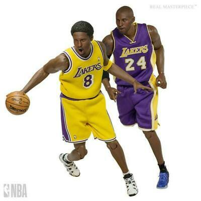 $575 • Buy NBA Kobe Bryant 1:6 Scale Real Masterpiece Figure 2-Pack ENTERBAY ON HAND