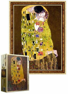 $ CDN53.62 • Buy [Puzzle Life] The Kiss Gold Edition By Gustav Klimt - 1000 Piece Puzzle Jigsaw