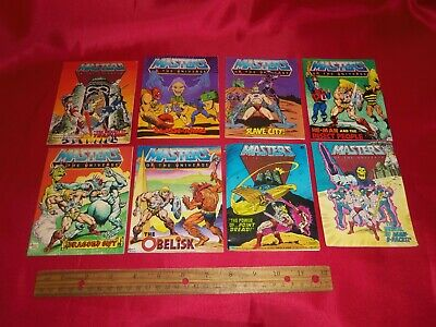 $39.99 • Buy Vintage He-Man Masters Of The Universe Mini Comic - Lot Of 8