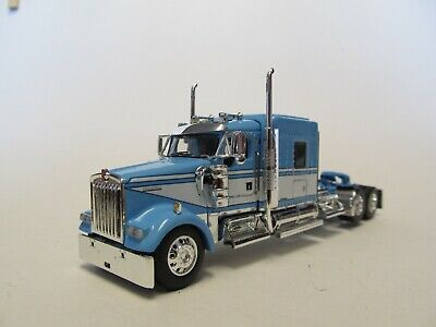 $ CDN112.67 • Buy Dcp 1/64 Scale W-900 Kenworth Midroof,  Blue & White, Yellow Engine,