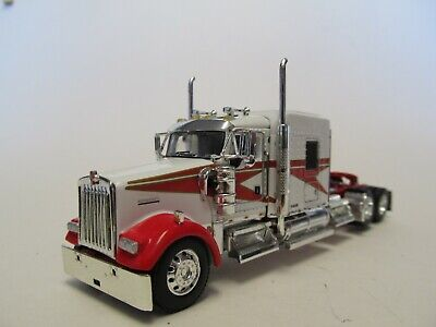 $ CDN107.69 • Buy Dcp 1/64 Scale W-900 Kenworth Midroof,  Red & White, Yellow Engine,