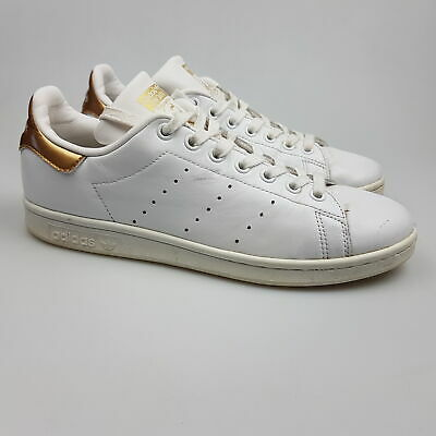 AU31.99 • Buy Women's ADIDAS 'Stan Smith' Sz 8 US Shoes White Gold VGCon | 3+ Extra 10% Off