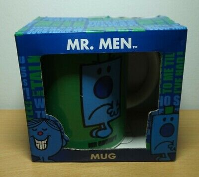 Green Mr Men Mug Mr Grumpy BBDesigns • 4£