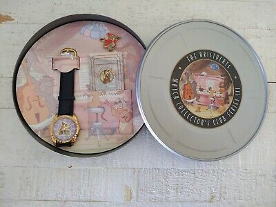 $39.99 • Buy NEW!!! Disney The Aristocats Watch Collectors Club Series 3 Aristocrats Fossil