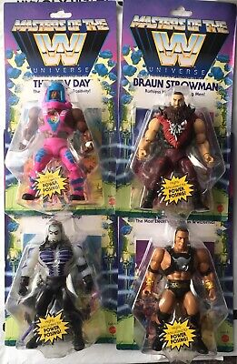 $125 • Buy Masters Of The WWE Universe Set Undertaker The Rock Strowman New Day MOTU 2020