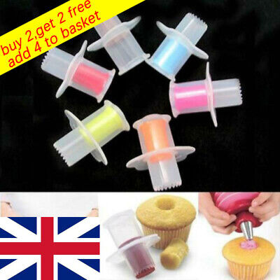 £3.47 • Buy Mould Pastry Model Cupcake Divider Muffin Cutter Cake Corer Kitchen Tool