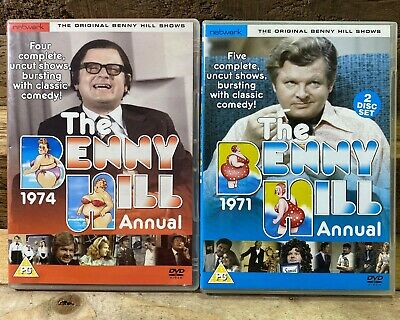 The Benny Hill Show - Annual DVD Bundle 1971 & 1974 - Complete • 10£