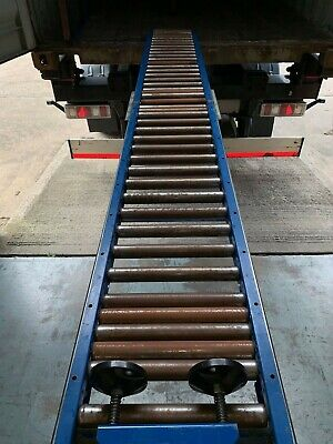 15 Metre Metal Conveyor Gravity Rollers For Container Unloading And Loading • 800£