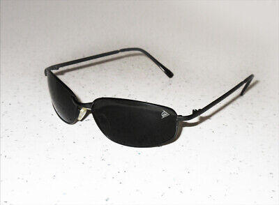 DUNLOP Sunglasses Oval Frame Black Lens Category 3 UV400 SUN SHADES -New UK • 11.99£