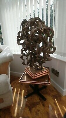 £300 • Buy Unusual  One Of A Kind  Lamp With Matching Table.