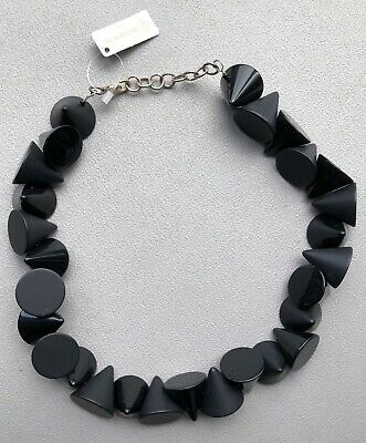 SOBRAL Jackie Brazil Black GALACTIC CONES Statement Necklace  • 44.99£