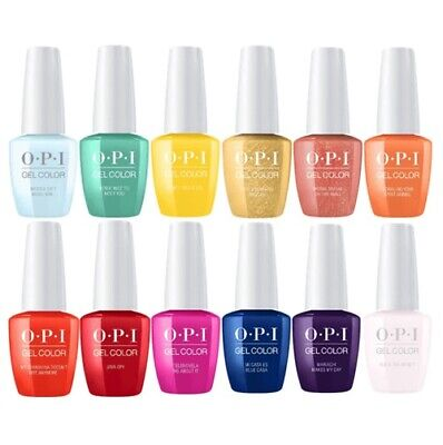 OPI GelColor Polish UV/LED Gel Varnish Soak-off Nail Lacquer 15ml Choose Colour • 15.71£