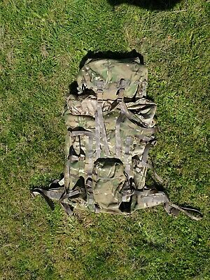 British Army RAF RM MTP Long Back Bergen/Rucksack& Cover. Excellent Condition  • 51£