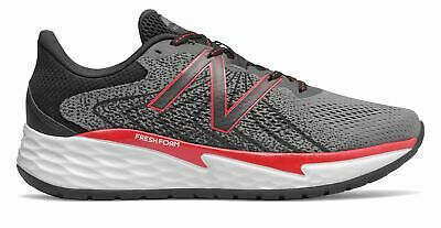 View Details New Balance Men's Fresh Foam Evare Shoes Grey With Red • 37.04$