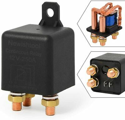 $ CDN25.44 • Buy 12V 250 AMP Continuous Relay Duty 5 Pin ON/OFF Power Switcher For Car Truck Boat