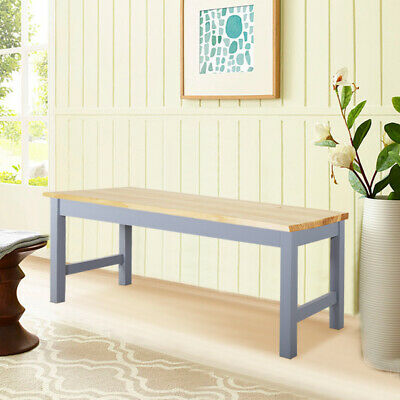 Pine Bench Seat Shabby Chic Wooden Benches 2 3Seater Dining Garden Leisure Stool • 39.95£