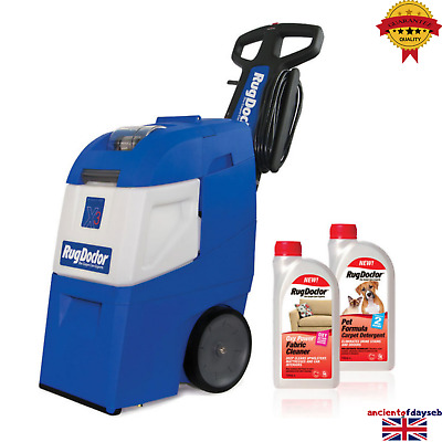 Rug Doctor Mighty Pro X3 Carpet Cleaner With Pet Formula & Oxy Power Detergents • 680£