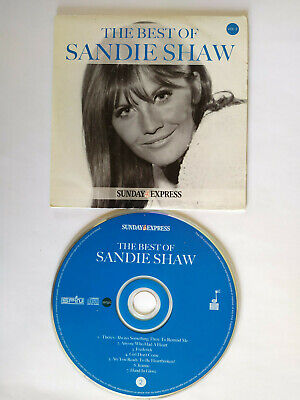 £2.99 • Buy The Best Of Sandy Shaw Sunday Express Promo AUDIO CD