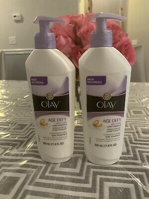AU45.96 • Buy Olay Age Defy Body Lotion, 11.8 Ounce (Pack Of 2) With Vitamin E