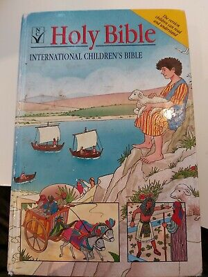 HOLY BIBLE International Childrens Bible, New Century Version, , Used; Good Book • 5£
