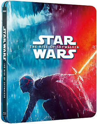 AU71.06 • Buy Star Wars The Rise Of Skywalker Exclusive 4K Ultra Limited Edition Steelbook NEW