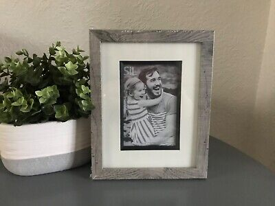"""£7.99 • Buy Brand New Grey Wash Wooden Photo Frame 4""""x6"""" - Post Next Day"""