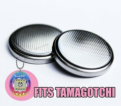 £3.40 • Buy New Replacement Battery For Tamagotchi Digital Pets (All Versions) (2 Batteries)