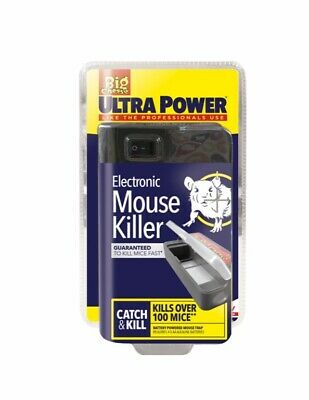 Ultra Power Electronic Electric Mouse Trap Rodent Killer Mice Zapper Trap Catch  • 22.50£