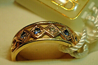 Clogau Gold - 18ct Gold Ring With Diamond Centre Stone - 99p Start • 101.71£