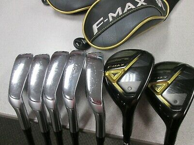$223.43 • Buy COBRA F-MAX Irons - USED - Graphite Senior Flex - Men's Right - Combo Set