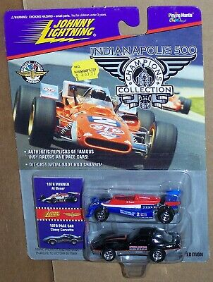$6.95 • Buy Johnny Lightning Indianapolis 500 1978 Al Unser & 1978 Pace Car Chevy Corvette