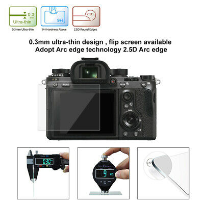$ CDN3.85 • Buy LCD Guard For Sony ILCE-9/A6000/RX100 Camera 9H Surface Hard Tempered Glass BA5