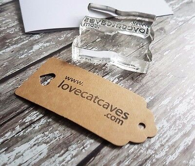 Bespoke Rubber Stamp Custom With Your Personalised Web Url Name Adress  • 9.50£