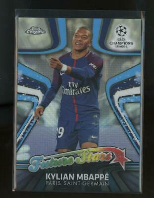 $ CDN1.68 • Buy 2017 Topps Chrome Future Stars Refractor Kylian Mbappe RC Rookie