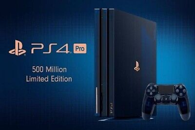 AU1900 • Buy '500 Million' PS4 Pro Limited Edition Brand New Unopened