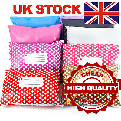 Strong Mail Bags Sacks Envelopes Mailers Post Mailing Postage Poly Self Seal • 9.49£