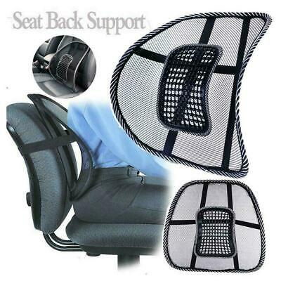 AU5.29 • Buy Lumbar Lower Back Car Seat Support Lumber Mesh Cushion Office Chair Pain R0A3