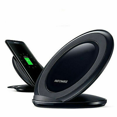 $ CDN11.34 • Buy Qi Wireless Fast Charger Stand Pad Para Samsung Galaxy S9 S8 Plus Note 9
