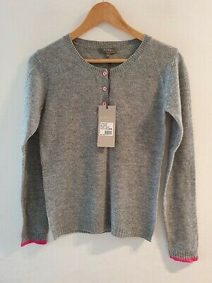 N.PEAL 100% Cashmere Grandad Sweater Size XS Rrp £159 • 99.99£