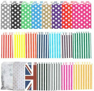 £0.99 • Buy 7  X 9  Paper Sweet Bags For Sweets Favour/buffet/wedding Cake/gift/party