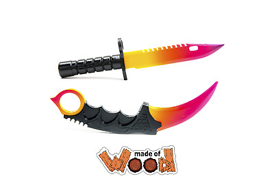 $ CDN30.86 • Buy CS:GO Wooden Knife Karambit And M9 Bayonet Fade 13-129-3