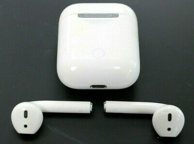 $ CDN124.79 • Buy Apple AirPods 2nd Generation With Charging Case White Tested Free Shipp