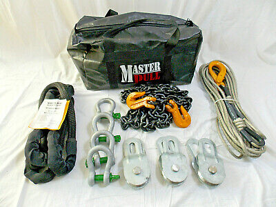 $674.25 • Buy Master-Pull Military W4000EX Humvee Vehicle Recovery Kit - NEW