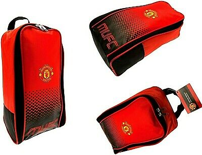 Manchester United Fc Football Shin Pad Boot Bag School Mufc Gym Kit Bootbag  • 8.95£