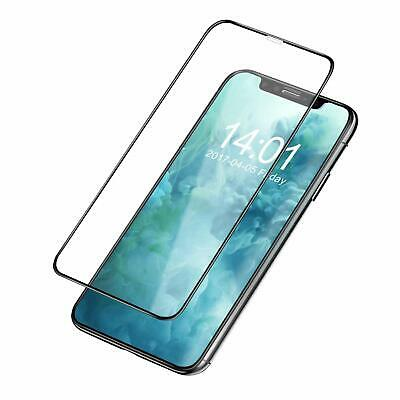 For IPhone X Tempered Glass Screen Protector Optimized Coverage Protection Guard • 3.99£
